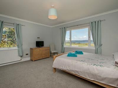 Charming double bedroom | Quarter Acre House, Kirkcolm, near Stranraer