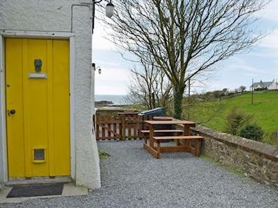 Beautiful countryside and coastal views | Knockkennoch 1 - Knockkennoch Cottages, Kirkandrews, near Borgue