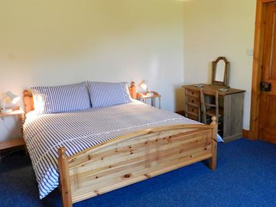 Double bedroom   Burnside Cottage, Sliddery, Isle of Arran