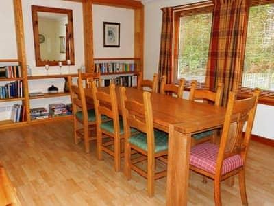 Dining room | Alltan, Brodick, Isle of Arran