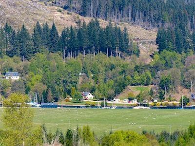 Scenic surrounding area   Brackletter Lodge, Kilmonivaig, near Fort William