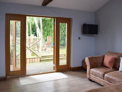 Open plan living space | Brandy Lodge, Newsham, near Richmond