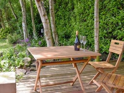 Sitting out area | Brandy Lodge, Newsham, near Richmond