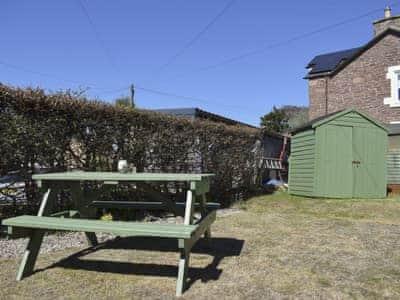 Garden | Thistle Cottage, Crieff