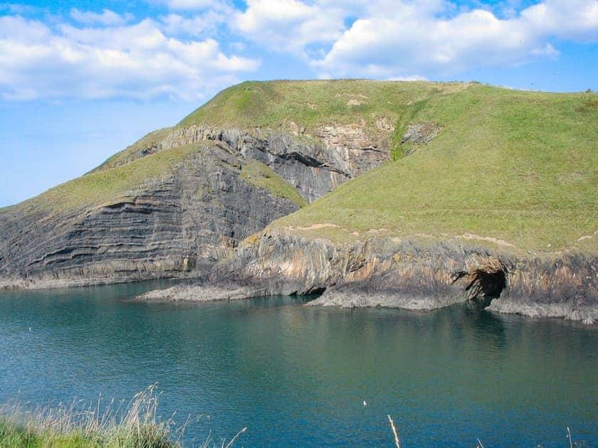 Witches' Cauldron near Ceibwr Bay | Tawelwch, St Dogmaels