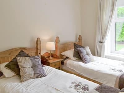 Comfortable twin bedroom | Braeside, Alnwick
