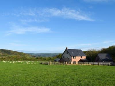 Spectacular rural scenery    Solitude, Aberhafesp, near Newtown
