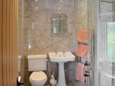 Shower rom   Whirligig Cottage, Armathwaite, near Penrith
