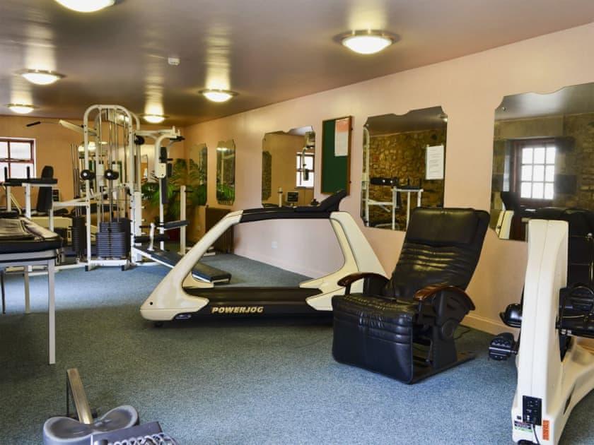 Well-equipped multi-gym | Akeld Manor, Akeld, Wooler