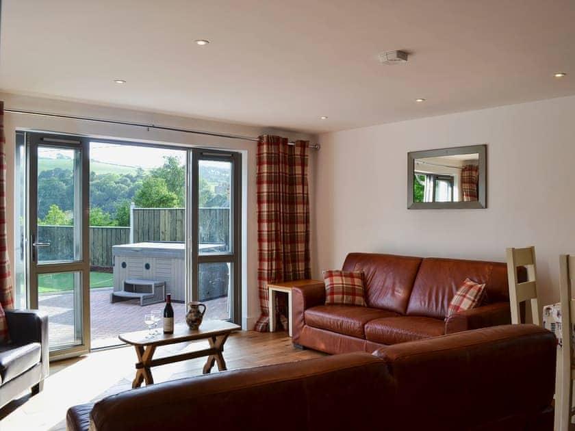 Bright and airy open plan living space   Elgandy, Llanfarian, near Aberystwyth