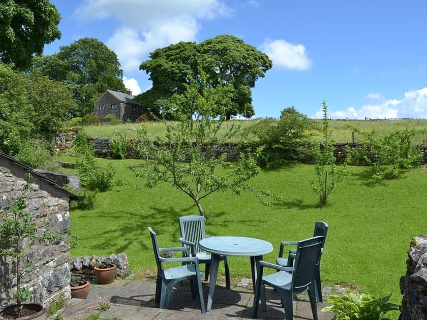 Lovely sunny patio | Chapel Barn, Orton