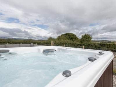 Private hot tub for 5 | The Den at Culross, Culross, near Dunfermline