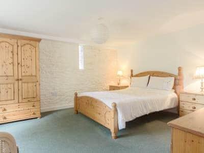 Large double bedroom   The Haybarn, Devauden, near Chepstow