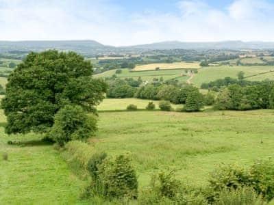 Wonderful views of the beautiful surrounding countryside   The Haybarn, Devauden, near Chepstow