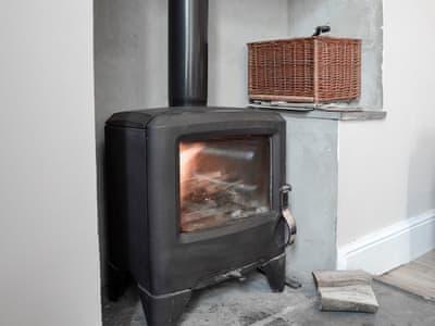 Lounge with wood burner | Cwmtwrch Cottage, Upper Cwmtwrch, near Ystradgynlais