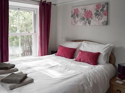 Delightful bedroom with king-size bed | Ellerside, Cark, near Cartmel