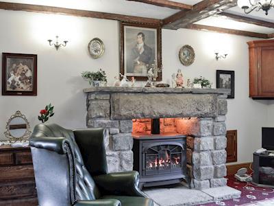 Relaxing lounge  | Tigh-na-Rosen, Minnigaff, near Newton Stewart