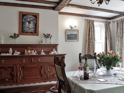 Welcoming dining room | Tigh-na-Rosen, Minnigaff, near Newton Stewart
