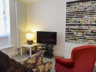 Living, dining and sleeping area   Castlegate Apartment 1, Malton