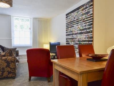 Living, dining and sleeping area | Castlegate Apartment 1, Malton