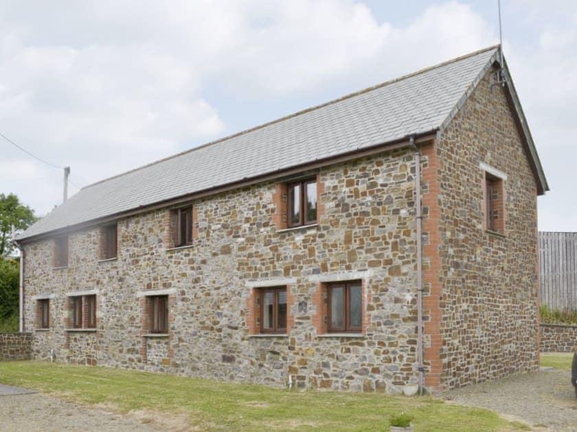 Rear of the stone-built barn conversion | Homeleigh Barn - Burracott Farm, Poundstock, Bude