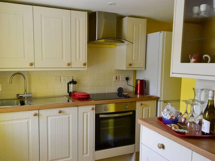 Compact kitchen | Holystone Estate - Squirrel Cottage - Holystone Estate, High Farnham, near Rothbury