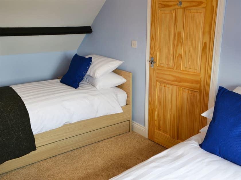 Twin bedroom | Holystone Estate - Squirrel Cottage - Holystone Estate, High Farnham, near Rothbury