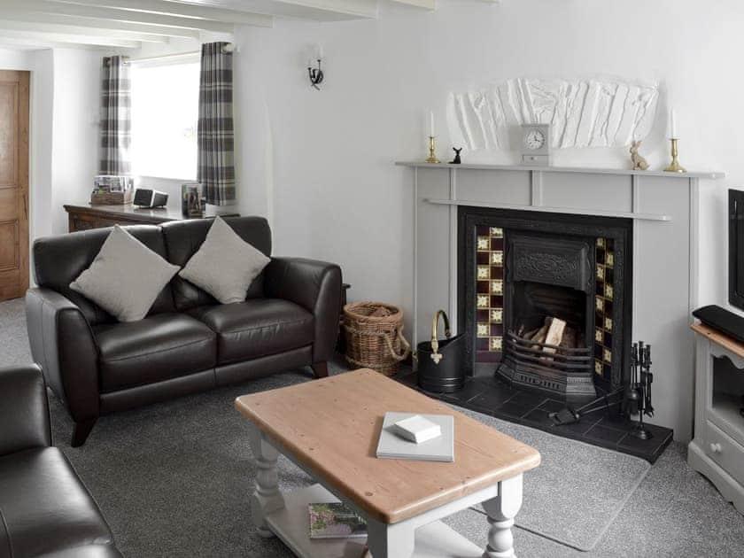 Stylishly furnished lounge   Carr Bank Cottage, Gawthwaite, near Ulverston