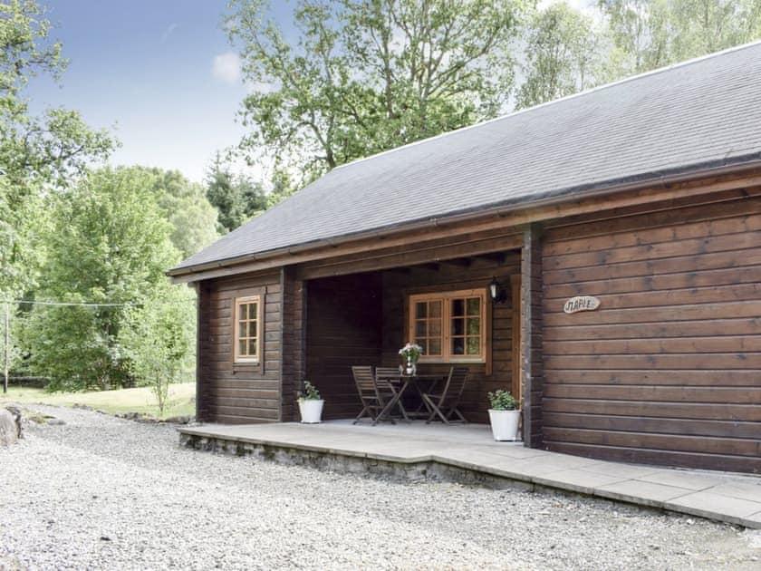 Lodge in idyllic setting   Maple, Alder - Acharn Lodges, Killin