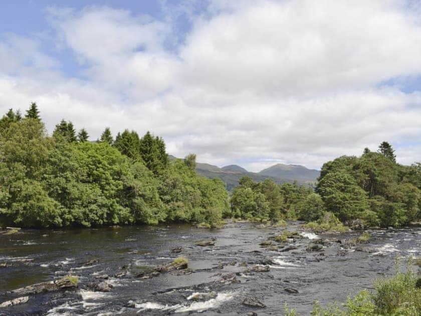 Stunning scenery | Acharn Lodges, Killin
