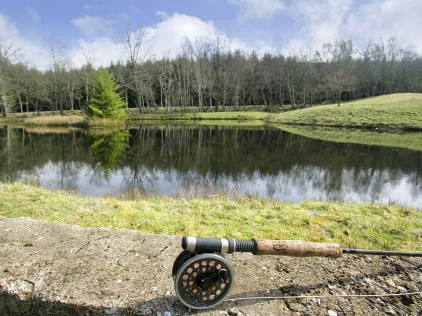Idyllic setting | Acharn Lodges, Killin