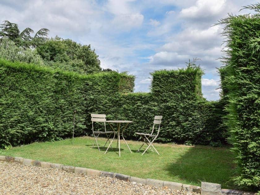 Sitting-out-area | Apple Cottage - Normanton Park Cottages, Normanton, near Oakham