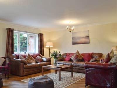 Spacious and comfortable living room   Castle View, Llananno, near Llandrindod Wells