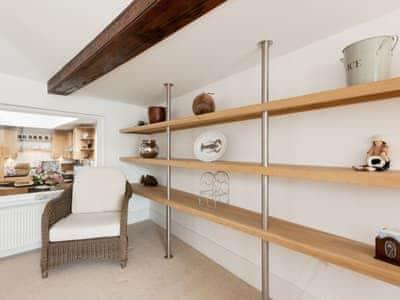 Living area   Waterside, Salcombe