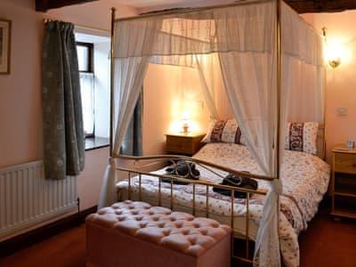 Four poster bedroom | Croft House Barn, Blindcrake, near Cockermouth