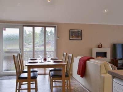 Open plan living space   Robins Nest, White Cross Bay, near Windermere