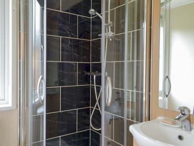 En-suite shower room | Robins Nest, White Cross Bay, near Windermere