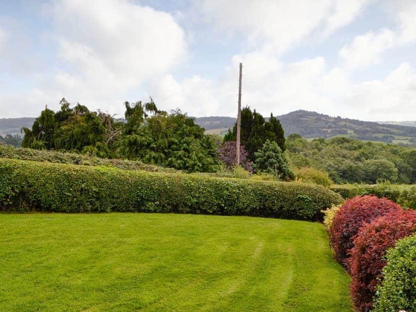 Lawned garden area | White Hill Farm Cottage, Wonastow, near Monmouth