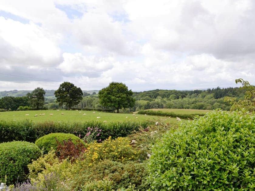 Lovely rural views | White Hill Farm Cottage, Wonastow, near Monmouth