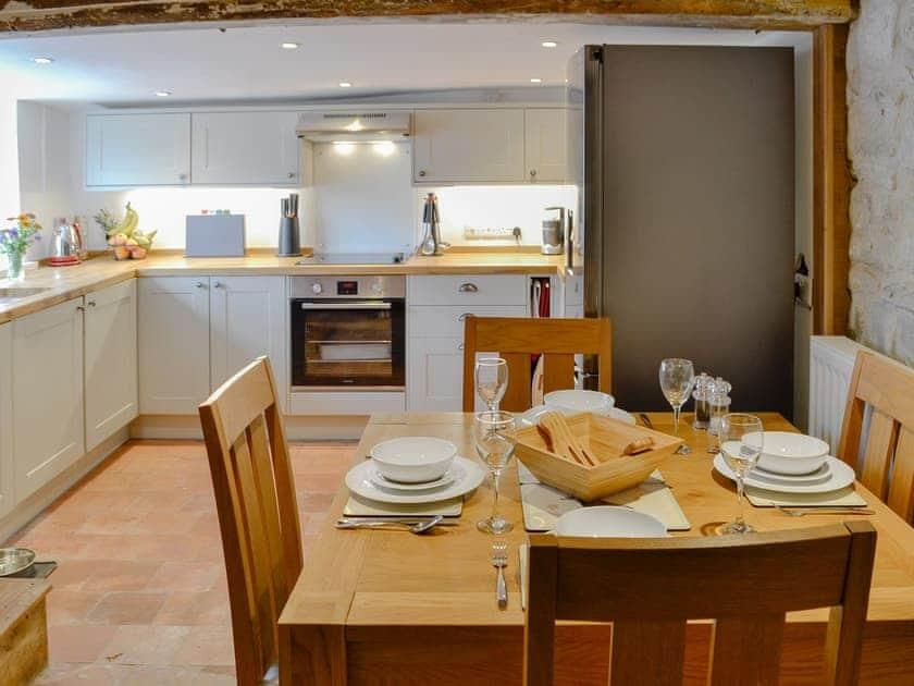 Charming kitchen/ dining room | Dairy House Farm, Bickenhall, near Taunton