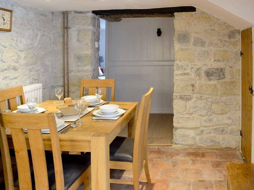 Quaint dining area | Dairy House Farm, Bickenhall, near Taunton