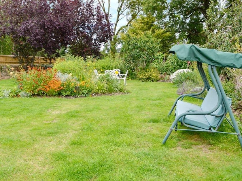 Attractive lawned garden | Dairy House Farm, Bickenhall, near Taunton