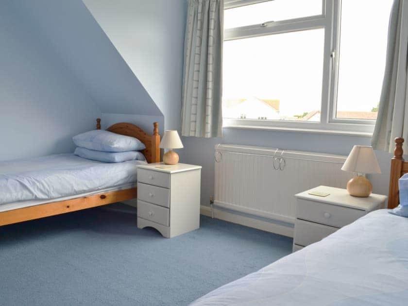 Twin bedroom | Sea Glimpse, West Runton, near Sheringham