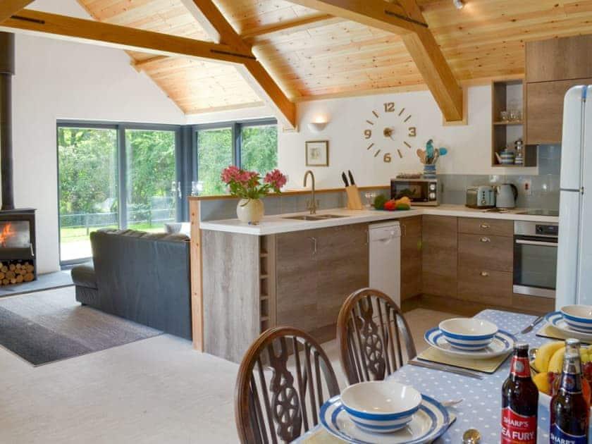 Stunning open plan living space | Daffodil - Lower Millcombe Barns, Linkinhorne, near Callington