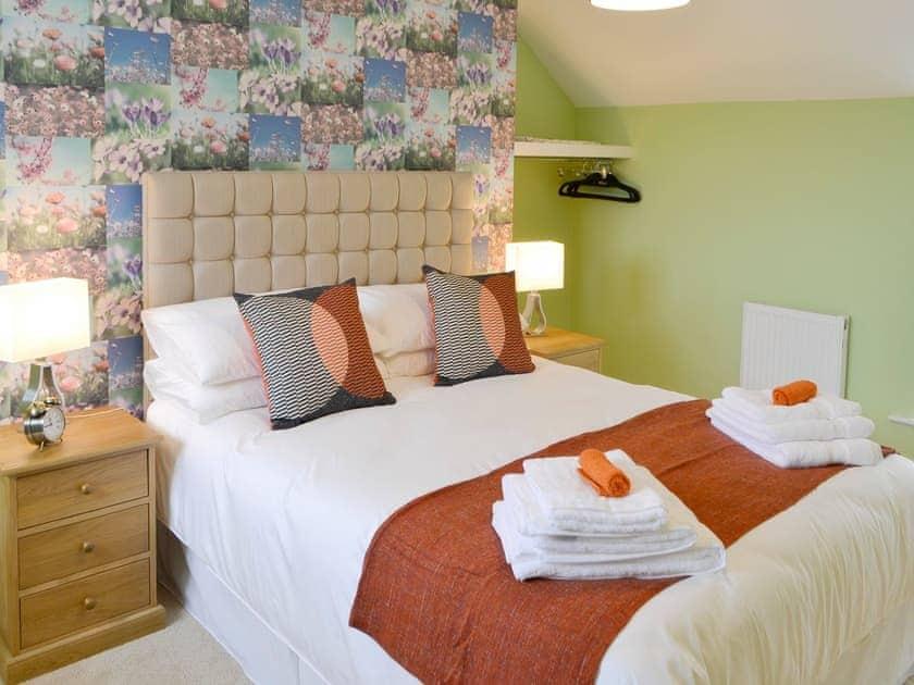 Relaxing double bedroom | Holystone Estate - Hazelnut Cottage - Holystone Estate, High Farnham, near Rothbury