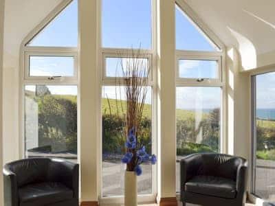 Breath-taking sea views from the sitting room | 8 Military Drive - Military Drive, Portpatrick, near Stranraer