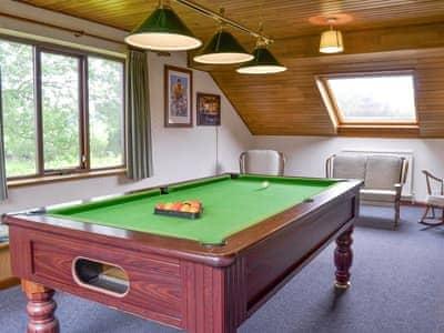 Useful recreation room | Brook Garth, Allerston, near Pickering
