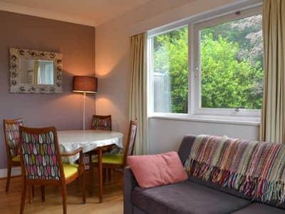 Delightful sitting room with breakfast area | Unerigg, Grasmere