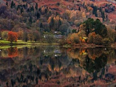 Magnificent autumnal scenery | Unerigg, Grasmere