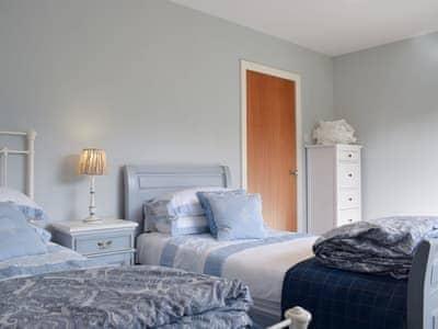 Comfy twin bedroom | Afton, Aberfeldy